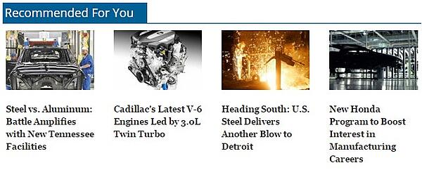 Our editorial recommendation engine suggests relevant content to engineering readers.
