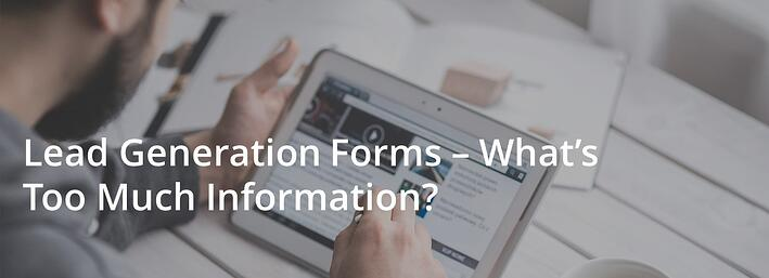how many fields do you place in your forms?