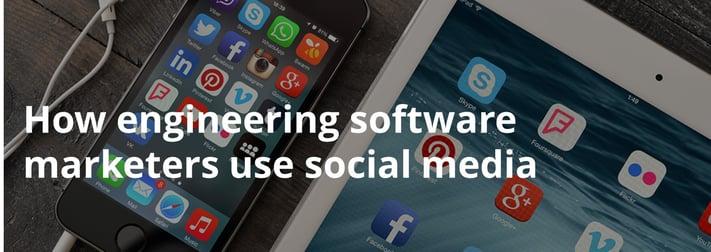 Social media in software marketing