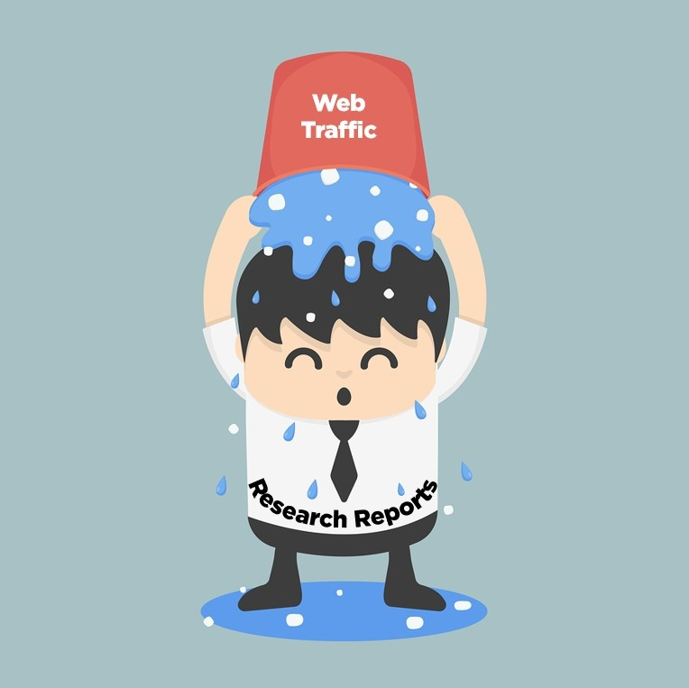 Research Reports = Organic Web Traffic