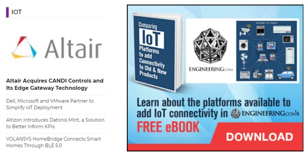 engineering.com using retargeting ads in IoT