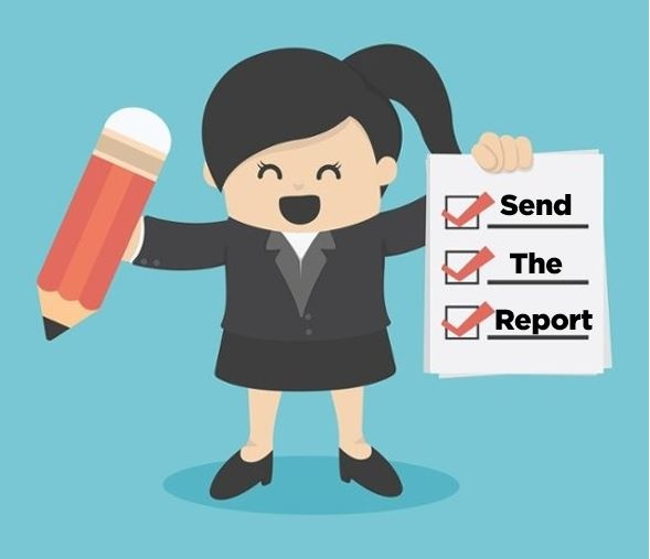 Have respondents and interviewees opt in to receive the report generating immediate leads